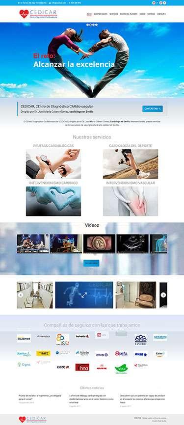 diseño web para medicos