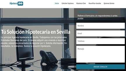 Página web Productos financieros