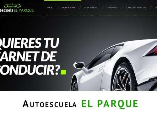 Web autoescuela