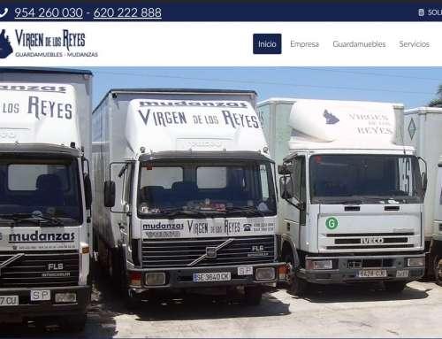 Páginas web Empresa de mudanzas